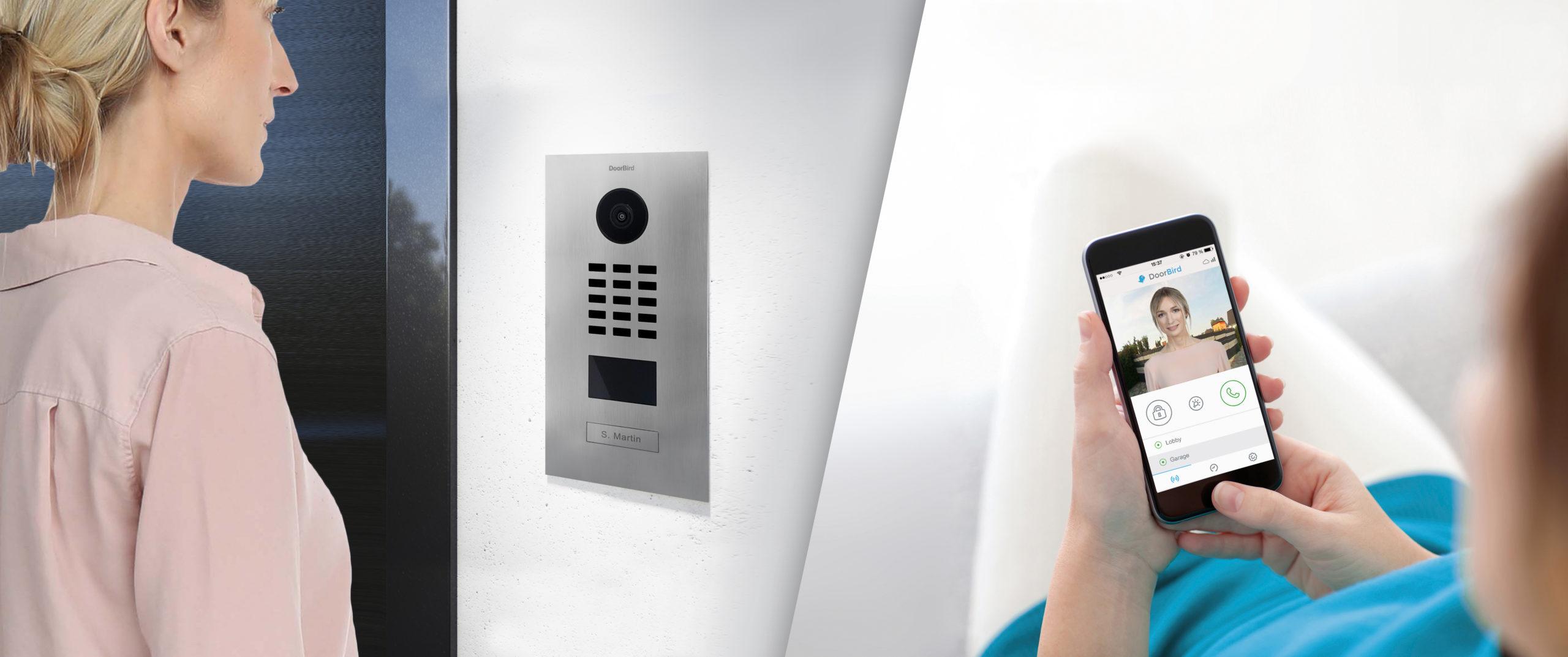 DoorBird: Un Interphone Vidéo Wifi Ou PoE 100% Connecté