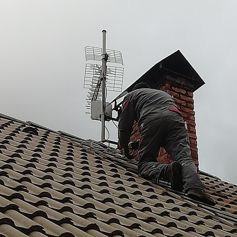 Installation routeur 4G+ avec antenne extérieure pour un débit hallucinant
