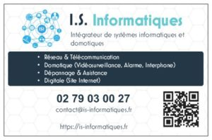 Carte de visite IS Informatiques