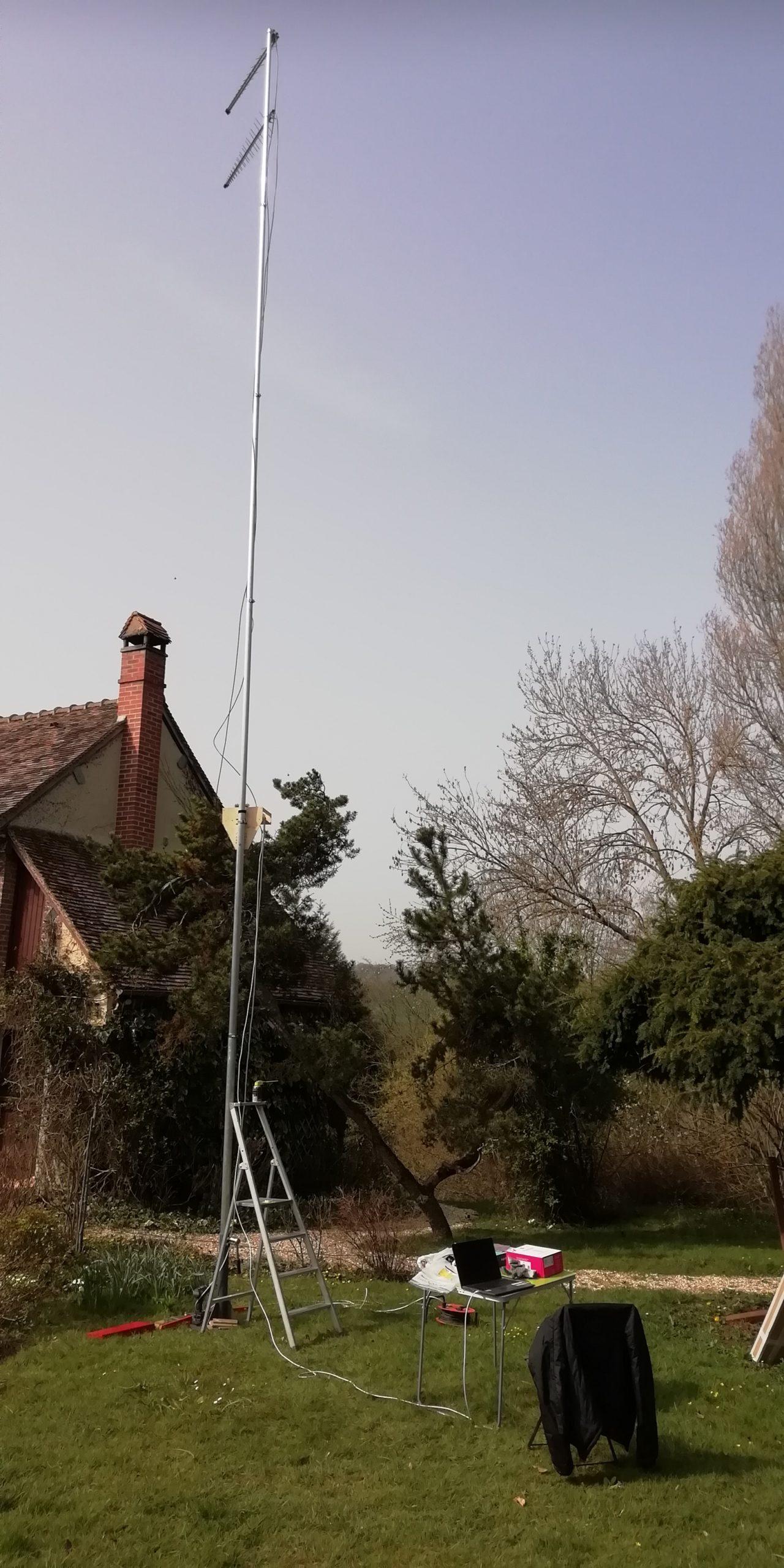 Audit 4G déploiement mât antenne